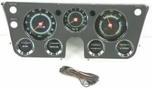 Oer Instrument Panel Gauge Cluster Set 5 000 Rpm Tach 1967 1968 Chevy gmc Truck