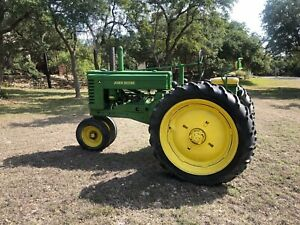 Rare Barn Find 1948 John Deere Model A Tractor Serial 59467 Classic Runs Great