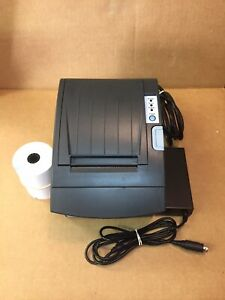 Bixolon Srp 350iiobe Thermal Pos Receipt Printer Bluetooth Ethernet W Power Supp