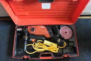 Hilti Brand Core Drill Model Dd 150 u With Stand In Carrying Case
