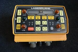 Spectra Physics Control Grade Panel box Model Laserplane 0247 2000 Precision