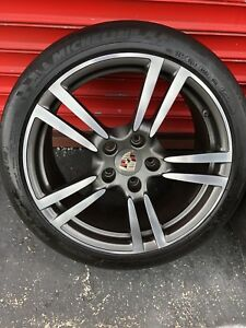 20 Porsche Panamera S Turbo Gts Oem Factory Stock Wheels Rims 4s With Tires