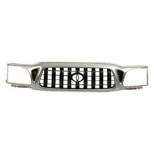 To1200248 New Grille Fits 2001 2004 Toyota Tacoma 2wd