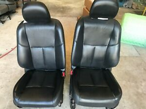 13 14 15 16 17 18 Nissan Altima Front Seats Black Leather