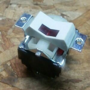 New Carling 3 Pole Double Throw On off on Rocker Switch 3pdt With Lamp Light