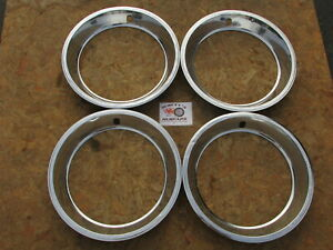 1968 79 Dodge Plymouth Mopar 15 Rally Wheel Trim Rings Beauty Rings Set Of 4