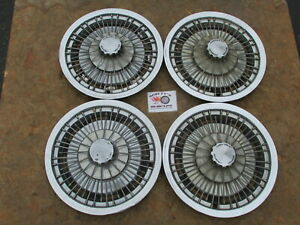 1971 76 Chevy Caprice Impala Monte Carlo Chevelle 15 Wire Wheel Covers 4