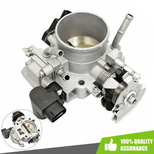 Throttle Body Assembly Fit 2003 2004 2005 Honda Accord Dx Lx Ex 2 4l Cable Drive