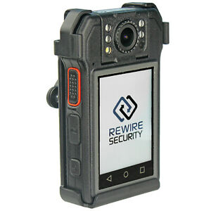 Rx5 V2 Body Worn Video Cctv Camera For Doorman Sia Security Lone Worker Police