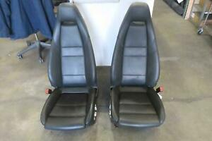2010 2016 Porsche Panamera Front Seat Set Airbag Leather Electric Sport Oem 2011