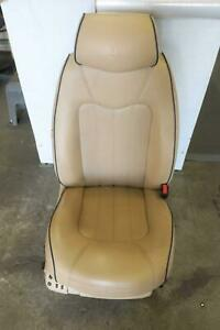 2011 Maserati Quattroporte Right Front Seat Tan Leather Heated Cooled Oem