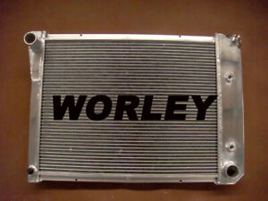3 Row Aluminum Radiator For Chevy Nova Pro 1969 1970 1971 1972 1973 1974