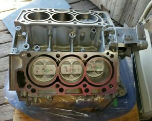 Honda J32a Engine Block Assembly With Pistons