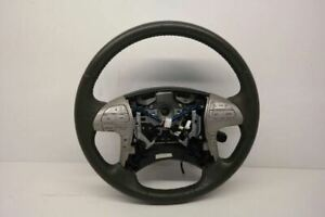 2002 Toyota Camry Steering Wheel Gray Leather