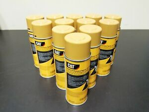 12 Pack Caterpillar Cat Oem Yellow Aerosol Spray Paint Cans 458 9587 New Stock