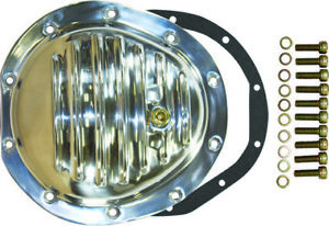 Chevy Gmc 4wd Front 10 Bolt Finned Polished Aluminium Differential Cover 77 91
