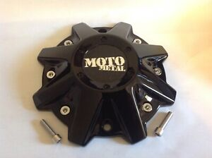 Moto Metal Gloss Black Replacement Center Cap Mo970 16 17 18 20 Rims