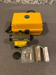 Topcon At g6 Auto Survey Level In Hard Carry Case Used Free Shipping