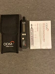 Odm Rp 450 02 Sm Mm Fiber Optic Power Meter Rp450 Rp 450 W Case