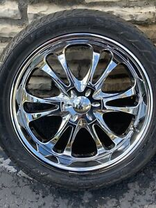 Up For Sale Are Some Well Taken Care Of 22 Inch Rims With Tires Rims Have Been