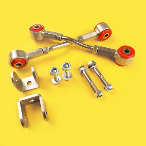 Front Extended Sway Bar End Link For 0 3 Lift Kit Jeep Cherokee Xj 84 01
