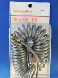 Roadpro Air Seat Blow Gun Kit Rp63052 For Cleaning Truck Cab Garage Rv