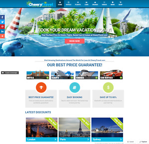 Established Profitable Fully Automated Travel Online Business Website For Sale