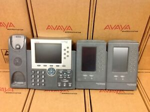 Cisco Ip Phone 7965g Office Business Phone W 2 Expansion Modules 7916