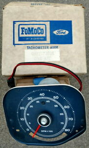 Nos 1969 1970 Mustang Shelby Factory Tach New In Box Tachometer C9zz 17360 A
