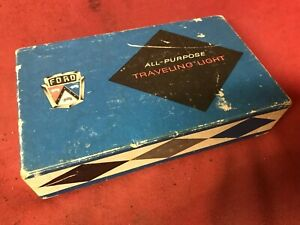 Nos Original Ford automobile Travel Light Lamp Promo Accessory Vintage Mustang