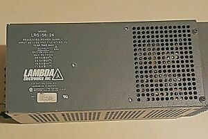 Lambda Regulated Power Supply 24 Volt Vdc Military Specifications
