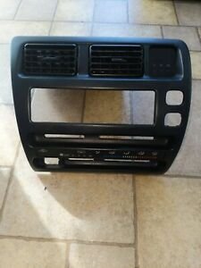 1993 1997 Toyota Corolla Bezel Console With Vents And Clock Oem