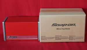 Snap On Red Mini Micro Top Chest Tool Box Brand New