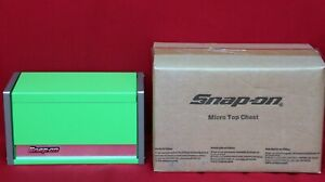 Snap On Green Mini Micro Top Chest Tool Box Brand New