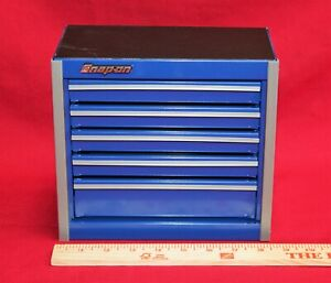 Snap On Royal Blue Mini Bottom Roll Cab Tool Box new