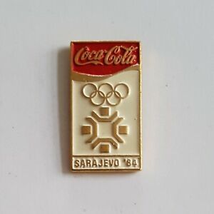 WINTER OLYMPIC SARAJEVO 1984. COCA COLA  PIN BADGE