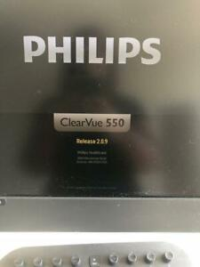 2013 2014 Philips Clearvue 550 Ultrasound