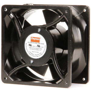 Dayton 3vu66 Square Axial Fan 115vac 3250 Rpm 6 15 16 X 6 15 16 t86
