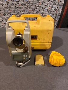 Futtura 10 second Digital Theodolite Dt 10 W Case used