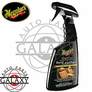 Meguiar S G10916 Gold Class Rich Leather Cleaner Conditioner Spray 15 2 Oz