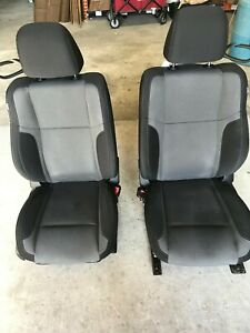 12 13 14 15 16 Dodge Challenger Front Seats Two Ton Seats Black With Gray