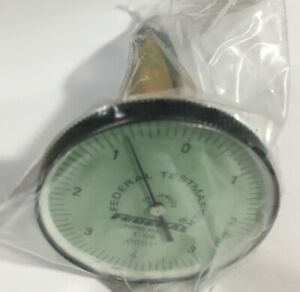 Mahr Federal T 106 Testmaster Dial Test Indicator 008 Range 0001 Graduation