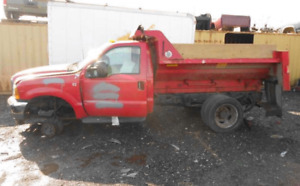 1999 Ford F450sd F550sd Pickup Front Axle Assembly 133k 4 88 Ratio W Warranty