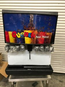 New Counter Top Soda Fountain Drink Dispenser 115v Manitowoc Servend Md250 3049