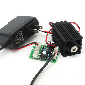 980nm 100mw Ir Focusable Line Laser Diode Module Driver Board Ttl 12v Adapter