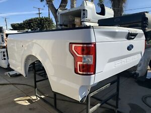 2018 19 Ford F150 8 Long Bed White Truck Bed Pickup Box
