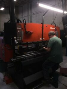 Amada Rg 50 Up acting Press Brake 3437