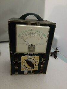 Vintage Devry Technical Institute 1955 Ohmmeter voltmeter model 1s14