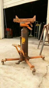 Used Hydraulic Telescopic Transmission Jack Capacity 1 000 Lbs