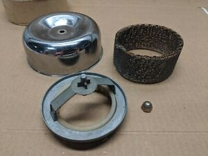 1950s 1960s Cal Custom 2 Bbl Air Cleaner Assembly Stromberg 81 97 Holley